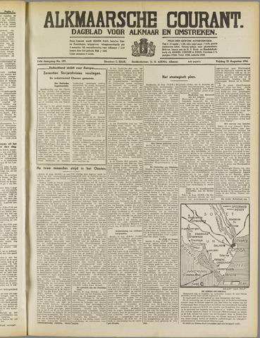 Alkmaarsche Courant 1941-08-22