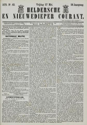 Heldersche en Nieuwedieper Courant 1870-05-27