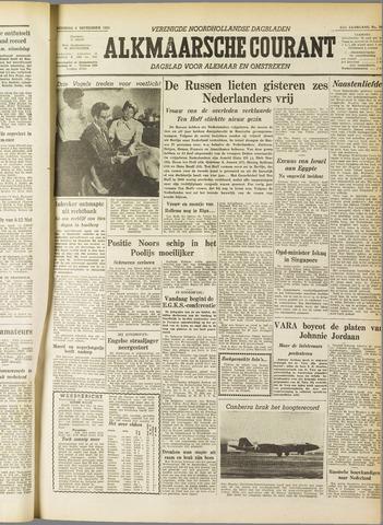 Alkmaarsche Courant 1955-09-06