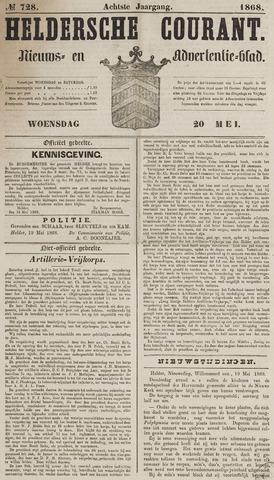 Heldersche Courant 1868-05-20