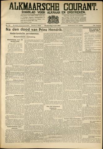 Alkmaarsche Courant 1934-07-05