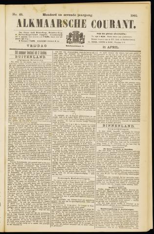 Alkmaarsche Courant 1905-04-21