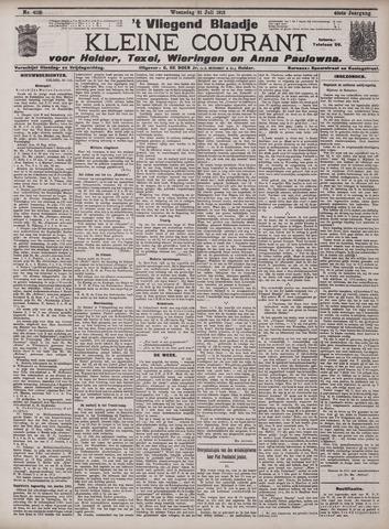 Vliegend blaadje : nieuws- en advertentiebode voor Den Helder 1912-07-31