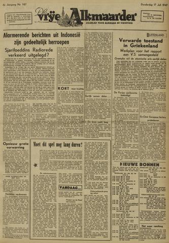 De Vrije Alkmaarder 1947-07-17