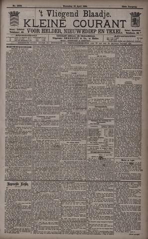 Vliegend blaadje : nieuws- en advertentiebode voor Den Helder 1894-04-18