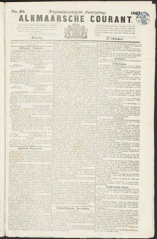 Alkmaarsche Courant 1867-10-27