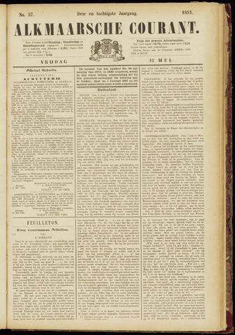 Alkmaarsche Courant 1881-05-13