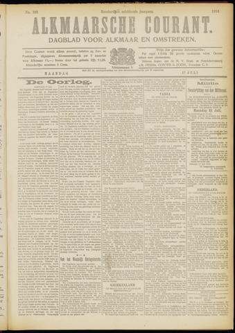 Alkmaarsche Courant 1916-07-17