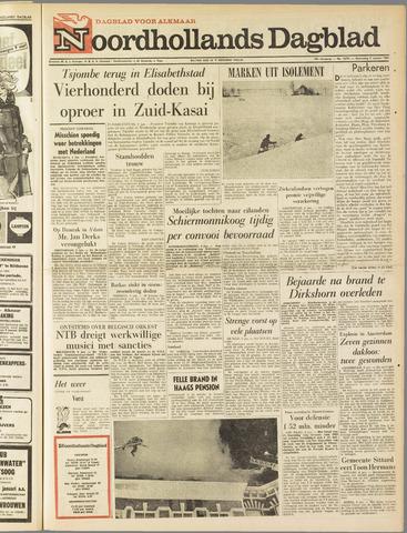 Noordhollands Dagblad : dagblad voor Alkmaar en omgeving 1963-01-09