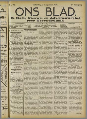 Ons Blad : katholiek nieuwsblad voor N-H 1910-08-06