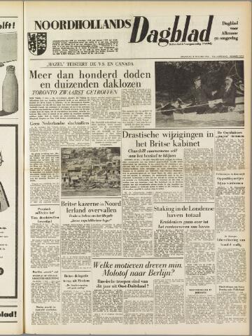 Noordhollands Dagblad : dagblad voor Alkmaar en omgeving 1954-10-18