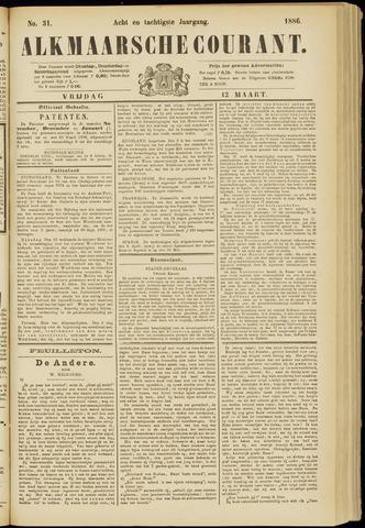 Alkmaarsche Courant 1886-03-12