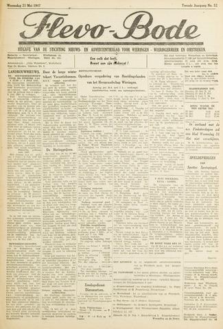 Flevo-bode: nieuwsblad voor Wieringen-Wieringermeer 1947-05-21