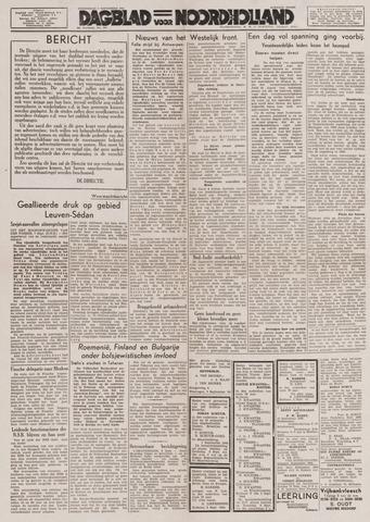 Dagblad Noord-Holland, Schager editie 1944-09-07