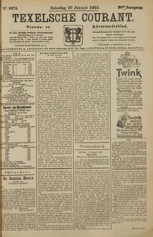 Texelsche Courant 1923-01-20