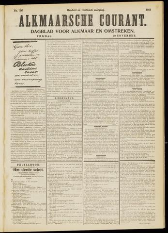 Alkmaarsche Courant 1912-11-29