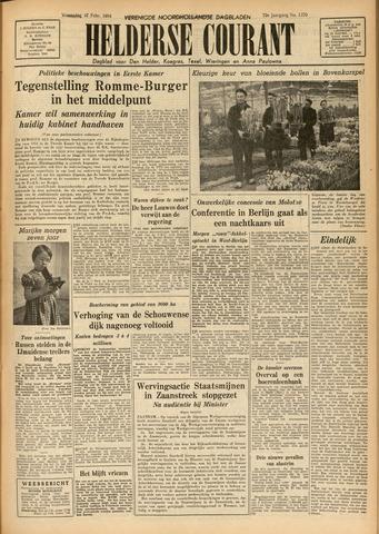 Heldersche Courant 1954-02-17