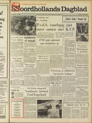 Noordhollands Dagblad : dagblad voor Alkmaar en omgeving 1968-09-16