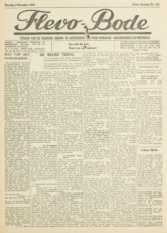 Flevo-bode: nieuwsblad voor Wieringen-Wieringermeer 1946-11-09