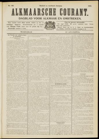 Alkmaarsche Courant 1912-08-28