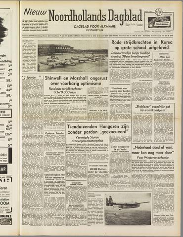 Nieuw Noordhollandsch Dagblad : voor Alkmaar en omgeving 1951-07-28