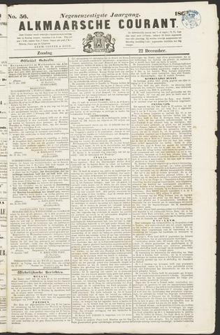 Alkmaarsche Courant 1867-12-22