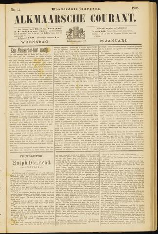 Alkmaarsche Courant 1898-01-26