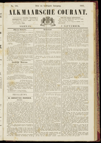 Alkmaarsche Courant 1881-09-02