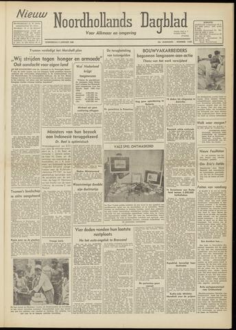 Nieuw Noordhollandsch Dagblad : voor Alkmaar en omgeving 1948-01-08