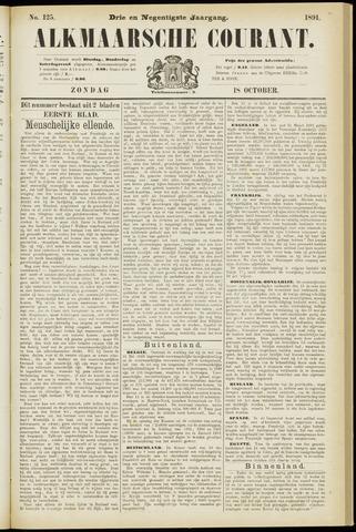 Alkmaarsche Courant 1891-10-18