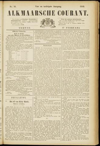 Alkmaarsche Courant 1882-02-17