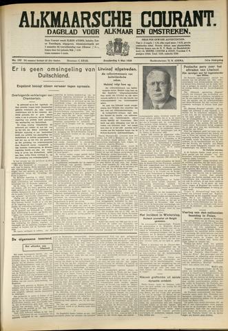 Alkmaarsche Courant 1939-05-04