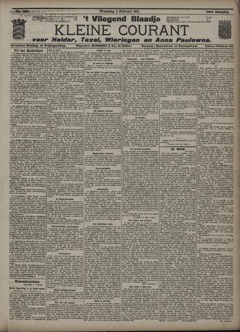 Vliegend blaadje : nieuws- en advertentiebode voor Den Helder 1910-02-02