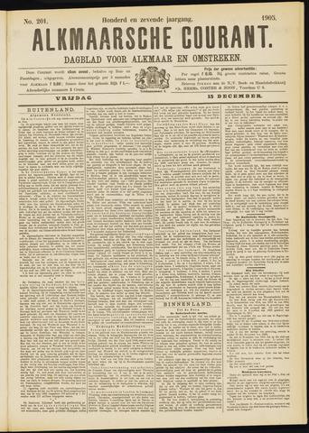 Alkmaarsche Courant 1905-12-15
