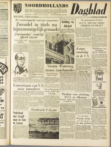 Noordhollands Dagblad : dagblad voor Alkmaar en omgeving 1960-11-03