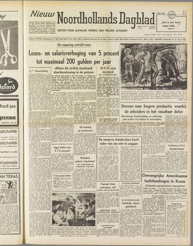 Nieuw Noordhollandsch Dagblad : voor Alkmaar en omgeving 1951-03-23