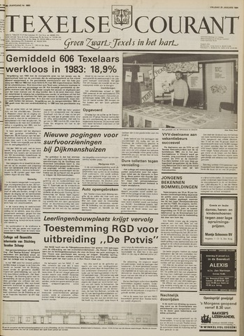Texelsche Courant 1984-01-20
