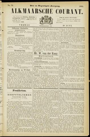 Alkmaarsche Courant 1891-06-19