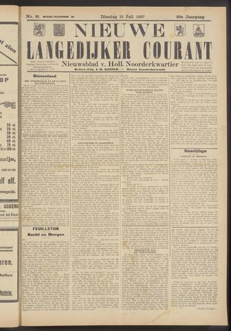 Nieuwe Langedijker Courant 1927-07-12