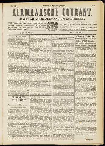Alkmaarsche Courant 1913-10-30