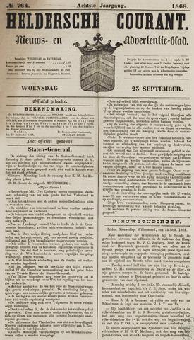 Heldersche Courant 1868-09-23
