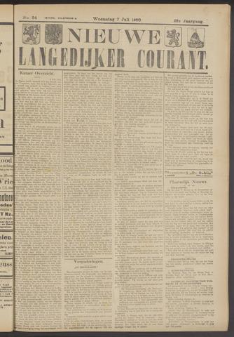Nieuwe Langedijker Courant 1920-07-07