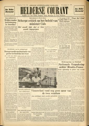 Heldersche Courant 1954-10-13