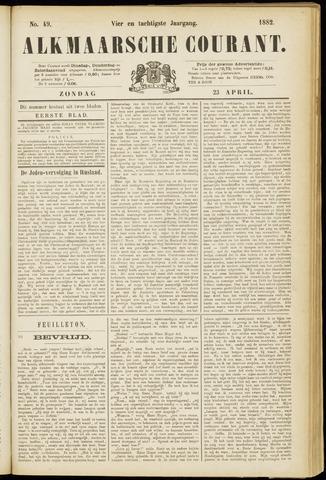 Alkmaarsche Courant 1882-04-23