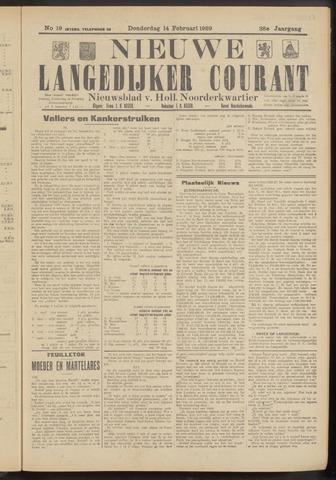 Nieuwe Langedijker Courant 1929-02-14