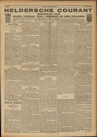 Heldersche Courant 1921-01-25