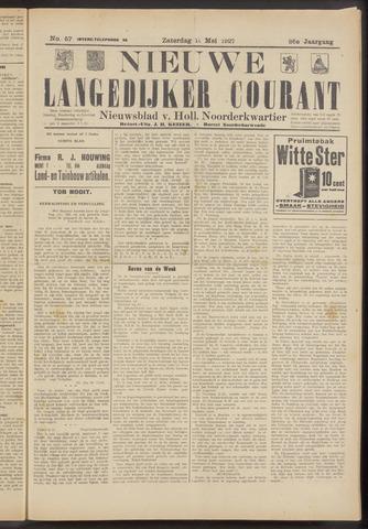 Nieuwe Langedijker Courant 1927-05-14