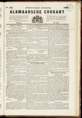 Alkmaarsche Courant 1866-06-10