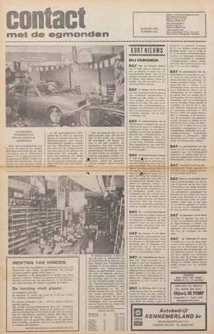 Contact met de Egmonden 1976-03-24