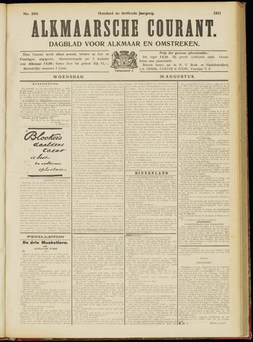 Alkmaarsche Courant 1911-08-30